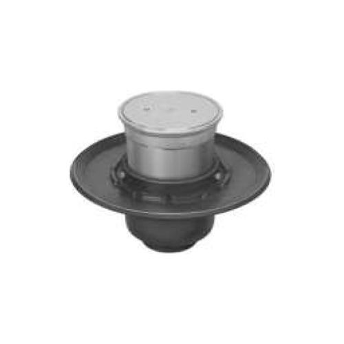 長谷川鋳工所:椀型鋳鉄製排水トラップ 型式:T5B-COA(SU)-FW付50-接続管なし