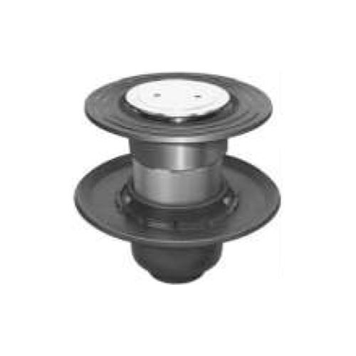 長谷川鋳工所:椀型鋳鉄製排水トラップ 型式:T5B-CIQ-FW付50-接続管付
