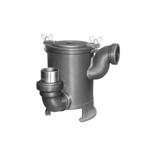 長谷川鋳工所:鋳鉄製ドラム型排水トラップ 型式:T2-50