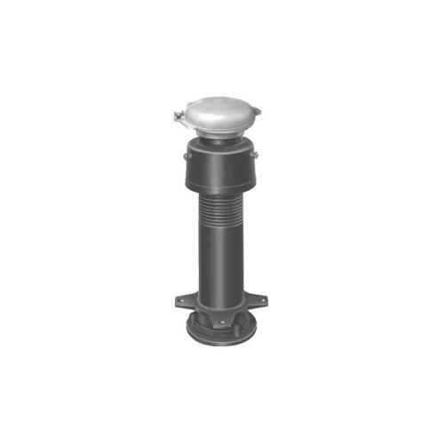 長谷川鋳工所:通気管接続用鋳鉄製防水継手 型式:VR-TH-F-M1-80
