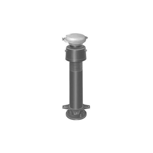 長谷川鋳工所:通気管接続用鋳鉄製防水継手(ロング) 型式:VR-TH-LF-M1-80