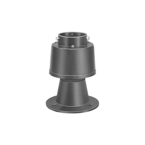 長谷川鋳工所:通気管接続用鋳鉄製防水継手 型式:VR-PC-B1-80