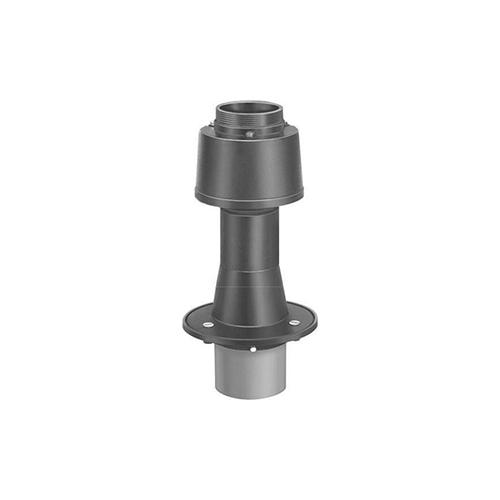長谷川鋳工所:通気管接続用鋳鉄製防水継手(ねじ込式) 型式:VR-PCLLSN-100