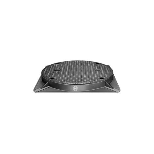 長谷川鋳工所:密閉形マンホールふた(ボルト・パッキン式) 型式:WPM-H-450-鋳鉄