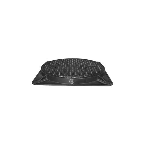 長谷川鋳工所:簡易密閉形マンホールふた 型式:MHA-SP-300-鋳鉄-鎖付
