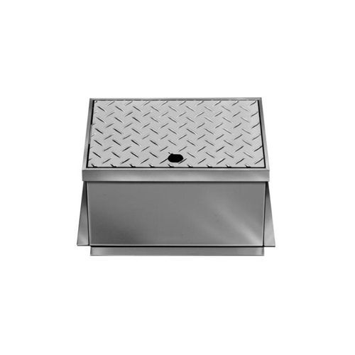 長谷川鋳工所:ステンレス製散水栓ボックス 型式:B3-SGC