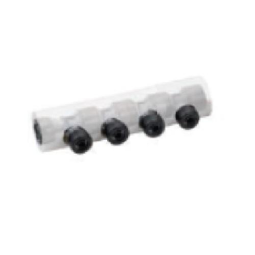 前澤給装工業(株):樹脂製回転ヘッダ両16PEX 保温カバー付 型式:718522-8P-HC