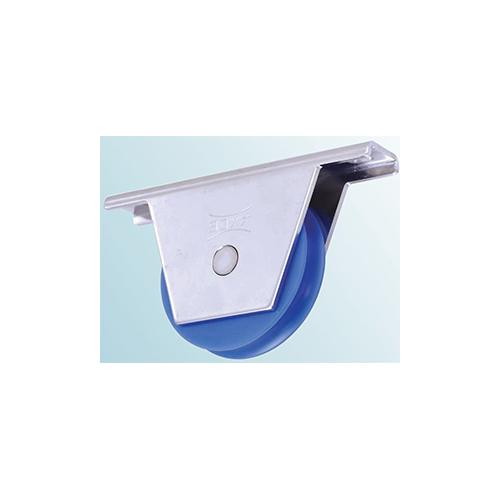 ヨコヅナ:MC防音重量戸車 スリムタイプ丸溝型 型式:JKM-0751(1セット:2個入)