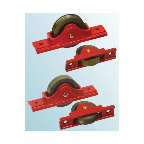 ヨコヅナ:鋳物枠ローラー戸車 平型 型式:RJC-0902(1セット:4個入)