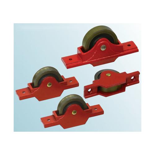 ヨコヅナ:鋳物枠ローラー戸車 袖平型 型式:RJC-0603(1セット:6個入)
