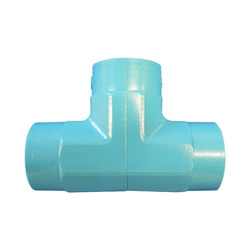 JFE継手:水道用管端防食継手(外面被覆)コア継手(埋没配管用) チー 型式:T-4-CDコア