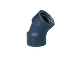 積水化学工業:エスロンUX継手 45°エルボ(45L) お買い得パック 型式:LUT4L50(1セット:10個入)