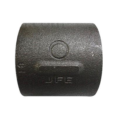 "JFE継手:黒継手・ソケット(お買い得パック) 型式:S-1""1/2-黒(1セット:50個入)"