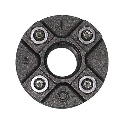 JFE継手:黒継手・組みフランジ(お買い得パック) 型式:F-3/4-黒(1セット:30個入)