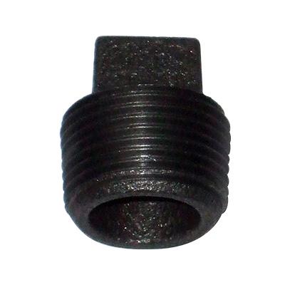 JFE継手:黒継手・プラグ(お買い得パック) 型式:P-1/8-黒(1セット:2400個入)
