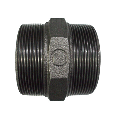 JFE継手:黒継手・六角ニップル(お買い得パック) 型式:6Ni-1/8-黒(1セット:800個入)