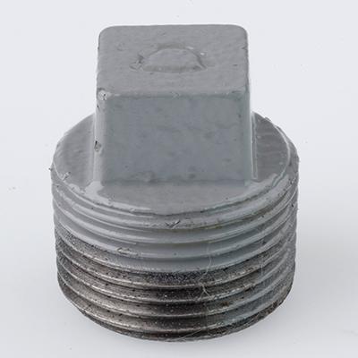 帝国金属:プラコート継手 プラグ(お買い得パック) 型式:P-3/4-プラ(1セット:100個入)