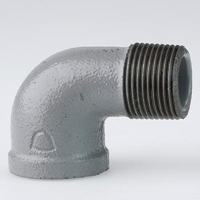 帝国金属:プラコート継手 ストリートエルボ(お買い得パック) 型式:SL-1/2-プラ(1セット:140個入)
