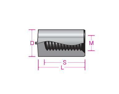 サンコーテクノ:CDSTUD内ねじタイプ 型式:MS-TP-6-10-M3(1セット:1000個入)
