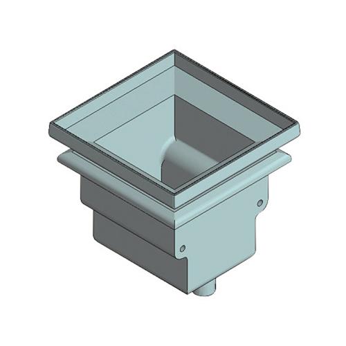 白光:96-1用ステンレスポット(70X70X69) 型式:96-1-2