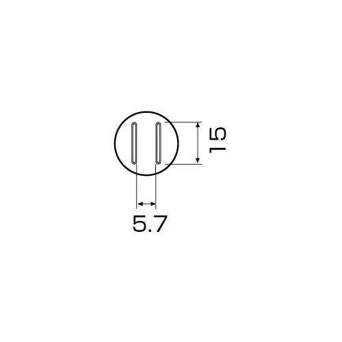 白光:ノズル SOP 5.6mm x 13mm 型式:A1132