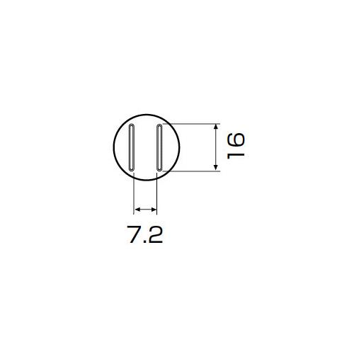 白光:ノズル SOP 7.5mm x 15mm 型式:A1133