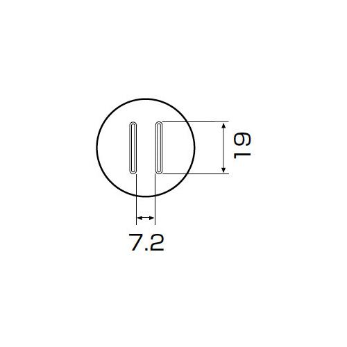 白光:ノズル SOP 7.5mm x 18mm 型式:A1134
