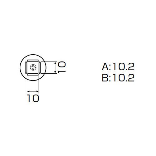 白光:ノズル QFP 10X10mm 型式:A1125B