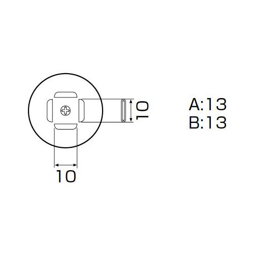白光:ノズル PLCC 11.5X11.5mm 型式:A1140B