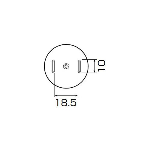 白光:ノズル TSOL(TSOP) 18.5mmX8mm 型式:A1187B
