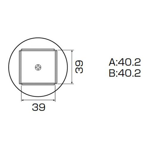 白光:ノズル QFP40X40用 型式:A1264B