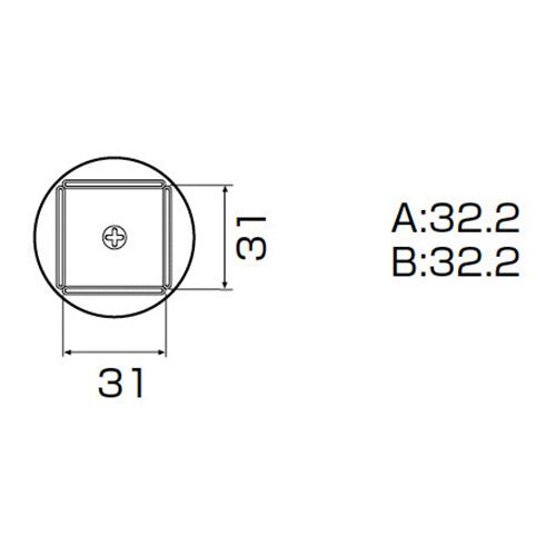 白光:ノズル QFP32X32用 型式:A1265B