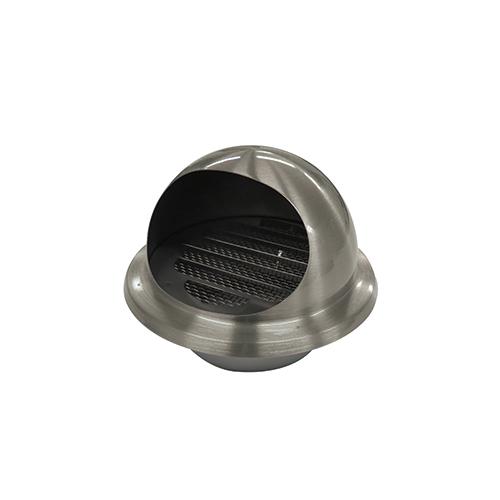 排水 通気金具 5☆好評 通気 吸気 排臭機 グリル ガラリー フローバル:ステンレス丸フード付ガラリ 型式:RGF-100S 直送商品 RGF-100S