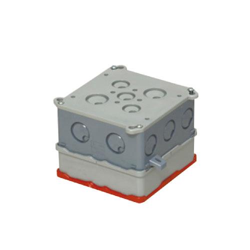 未来工業:大形四角コンクリートボックス(耐熱塗代カバー付) 型式:4CBL-89N11H(1セット:20個入)