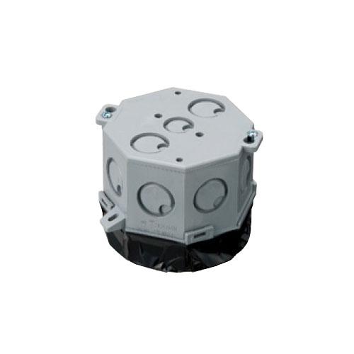 未来工業:八角コンクリートボックス(鉄塗代カバー付) 型式:8CB-79NT11(1セット:20個入)