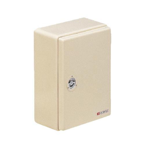 未来工業:強化ボックス(FRP樹脂製防雨常設ボックス)屋根無 型式:FB-6480NJ