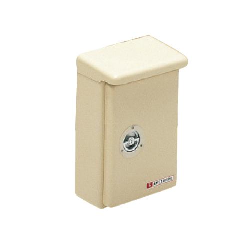 未来工業:強化ボックス(FRP樹脂製防雨常設ボックス)浅形・屋根付(タテ型) 型式:FBS-6050YJ