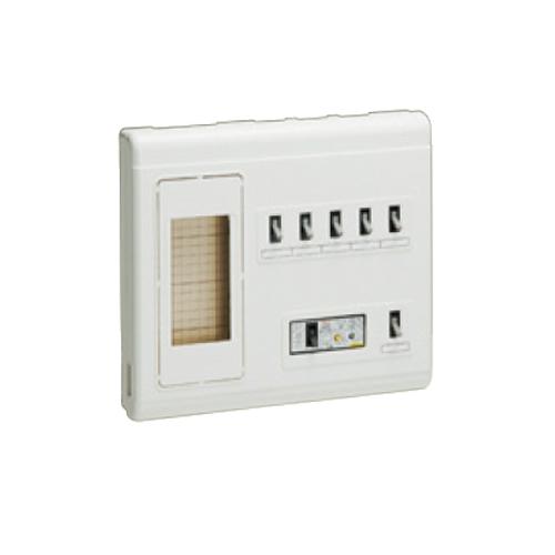 未来工業:単相三線式リミッタースペース (中性線欠相保護付3POC付漏電しゃ断器) 型式:MPH6-305K
