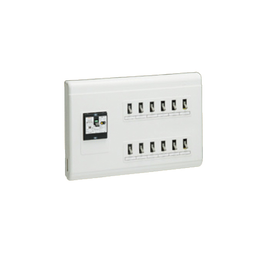 未来工業:単相三線式(主幹中性線欠相保護付3POC付漏電しゃ断) 型式:MPH12-38K