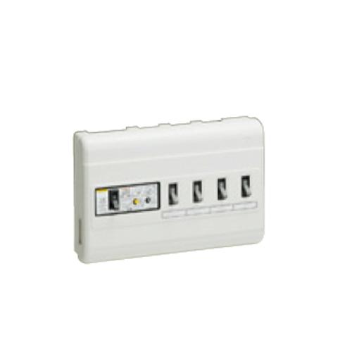 未来工業:単相三線式 (主幹中性線欠相保護付3POC付漏電しゃ断器) 型式:MPH4-32K