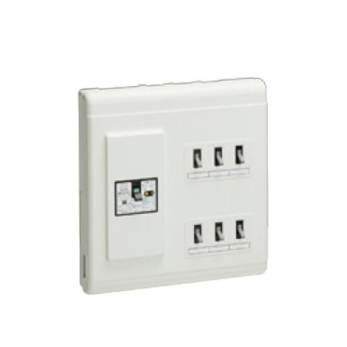 未来工業:単相三線式 (主幹中性線欠相保護付3POC付漏電しゃ断器) 型式:MPH6-34K4