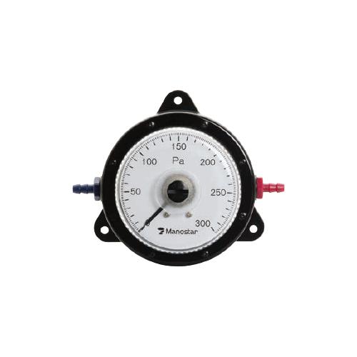 山本電機製作所:マノスターゲージ 高精度微差圧計 型式:W081FN100DV (100PA)