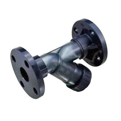 積水化学工業:ストレーナ フランジ式 PVC 型式:SS40TFZ