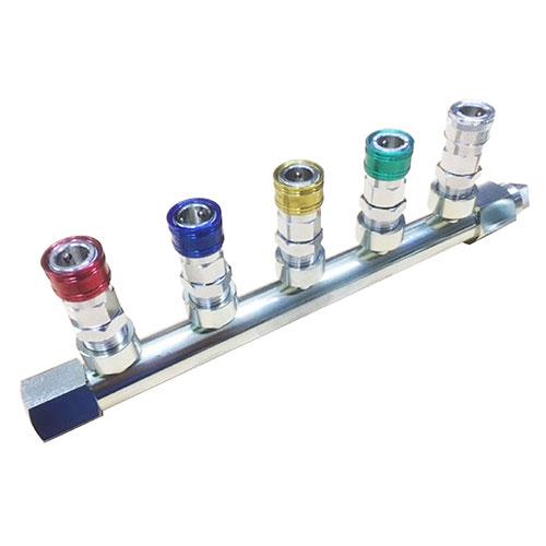 ヤマトエンジニアリング:エアーヘッダーカップリング 型式:6PAL5-40-5 Rc3/4メネジ