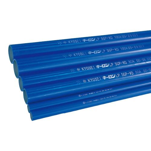 国内調達品:塩ビ ライニング鋼管 型式:LP-VD 4000Lx80A(定尺カット品2Mx2本)