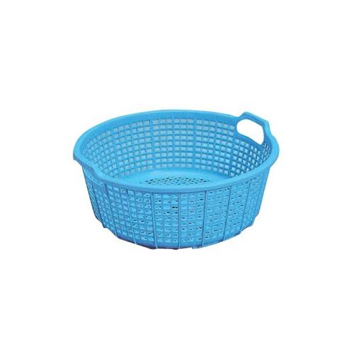 岐阜プラスチック工業:業務用カゴ 大漁カゴ(丸) 型式:大漁カゴ(丸)(1セット:25個入)