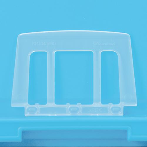 岐阜プラスチック工業:カード差しNR104×60 型式:NR104×60(1セット:500個入)