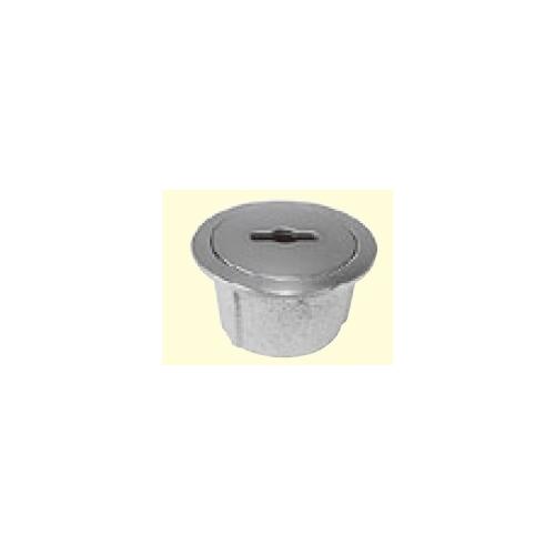 伊藤鉄工(IGS):ステンレス製ハンドル取手式Oリング入り共栓 型式:SSNGFN 100