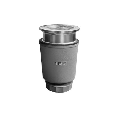 伊藤鉄工(IGS):差込型(ステンレス製目皿、枠付き)流しトラップ 型式:T14BVS 50