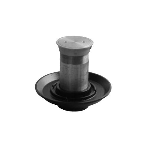 伊藤鉄工(IGS):防水皿付きステンレス製床上掃除口(SCOA+BZN) 型式:SCOB 100
